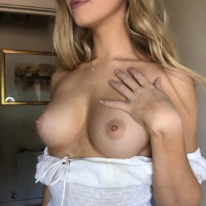perky young breasts