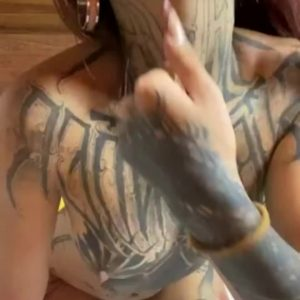gorgeous perky tits and tattoos