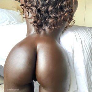 outstanding ebony ass